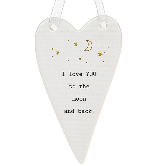 Thoughtful Words Hanging Plaque - Love You