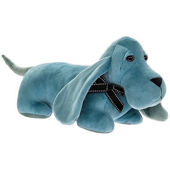 Dachshund Doorstop - Plush Blue