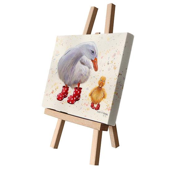 Darcey & Daffodil Ducks Canvas Cutie