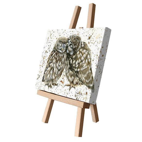Posh & Pecks Owls Canvas Cutie
