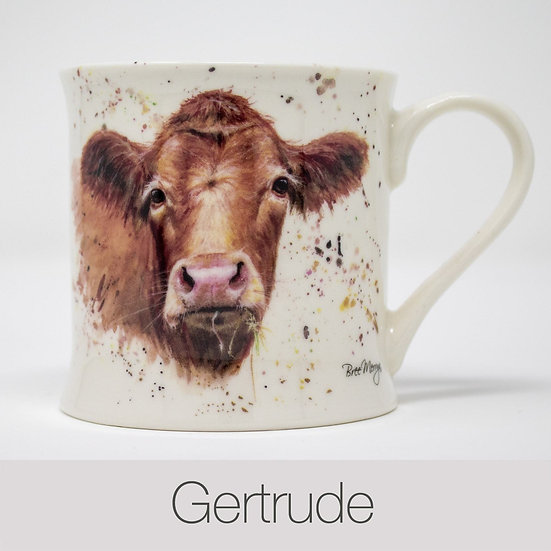 Gertrude Cow China Mug