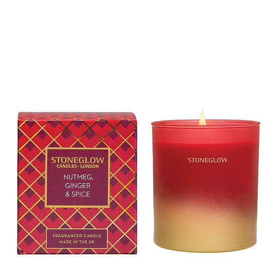 Stoneglow Nutmeg Ginger and Spice Tumbler Candle