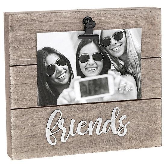 'Friends' Wood Block Clip Frame