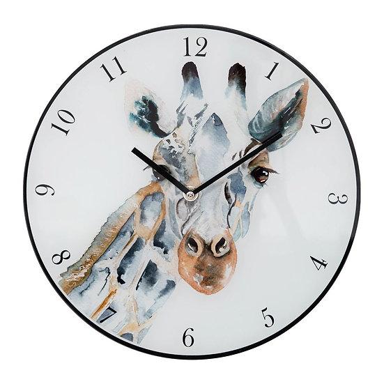 Meg Hawkins 30cm Giraffe Wall Clock