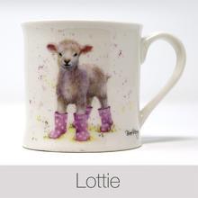 Lottie Lamb China Mug