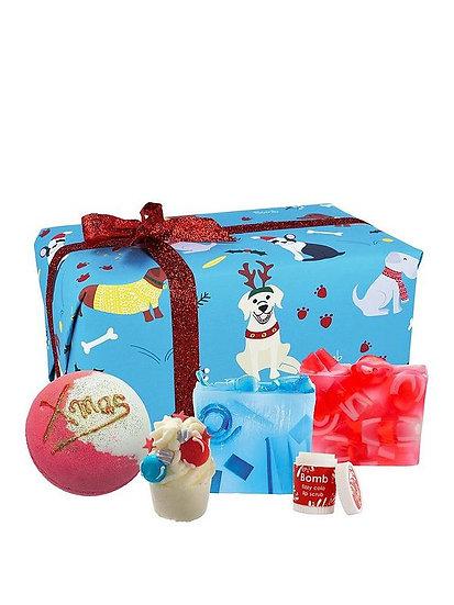 Santa Paws Bath Gift Set