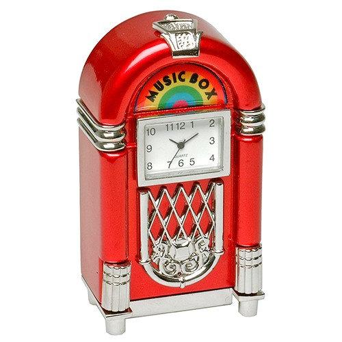 Jukebox Miniature Desk Clock