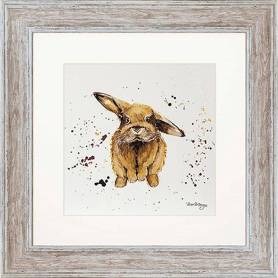 Benji Bunny 48cm Square Framed Print