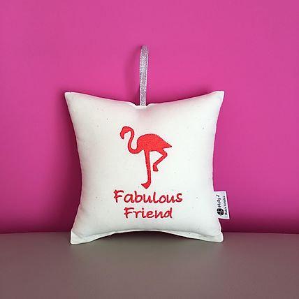 'Fabulous Friend' Hanging Cushion