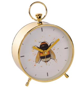 Bee Metal Alarm Clock