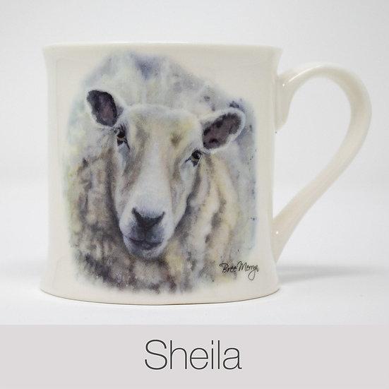 Sheila Sheep China Mug