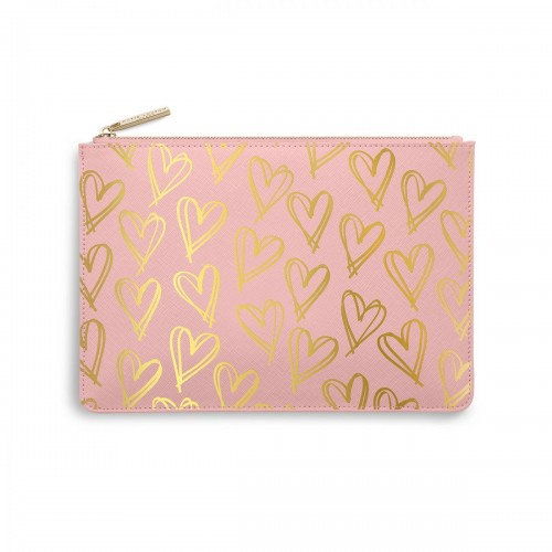 Katie Loxton Perfect Pouch - Heart Print