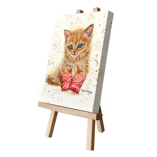 Marmalade Kitten Canvas Cutie