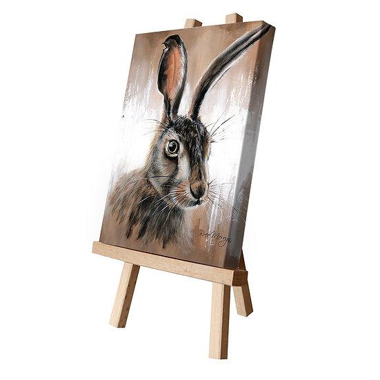 Hattie Hare Canvas Cutie