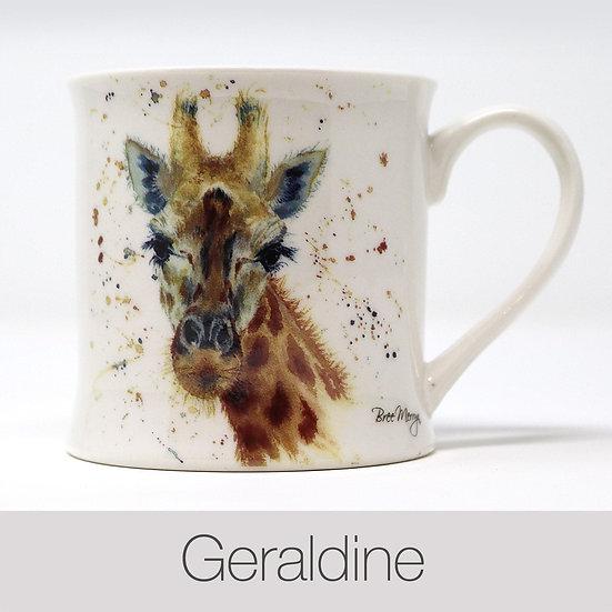 Geraldine Giraffe China Mug
