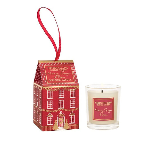 Stoneglow Nutmeg Ginger and Spice Votive House