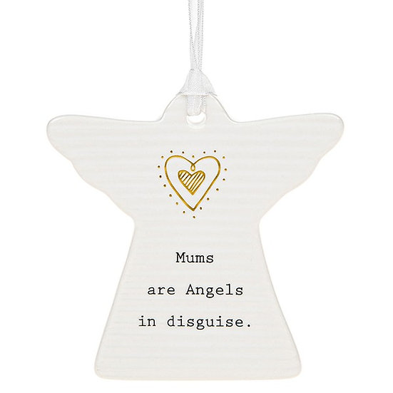 Thoughtful Words Hanging Plaque - Mums