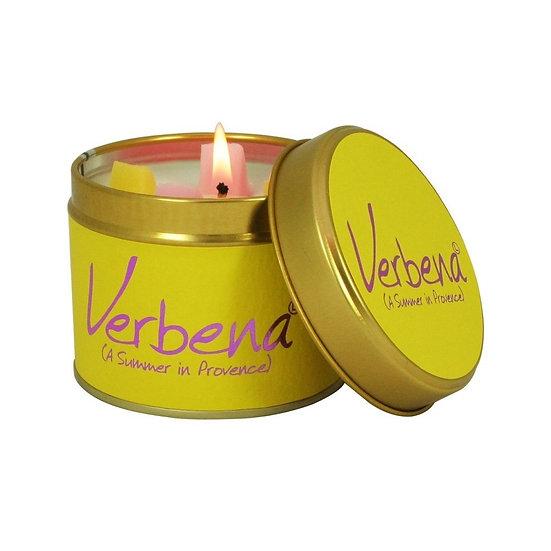 Lily Flame Verbena Tin Candle