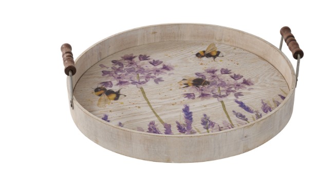 Lavender Bee Tray