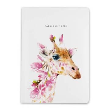 Lola Design A5 Giraffe Notebook