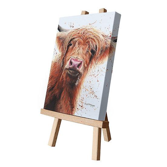 Betsy Cow Canvas Cutie