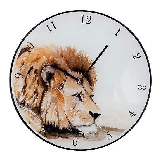Meg Hawkins 30cm Lion Wall Clock