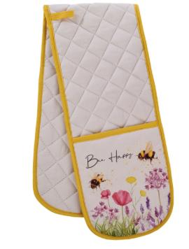 Bee Happy Oven Gloves
