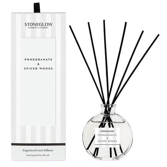 Stoneglow Pomegranate and Spiced Woods Reed Diffuser