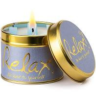 Lily Flame Relax Tin Candle