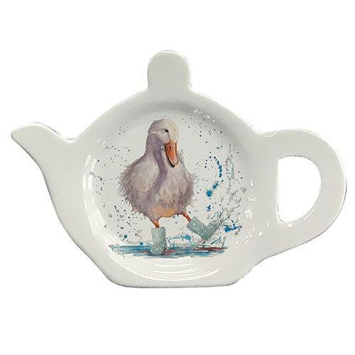 Deidre Duck Tea Bag Tidy