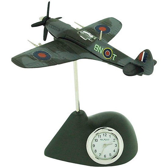 Spitfire Miniature Desk Clock