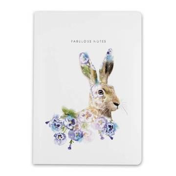 Lola Design A5 Hare Notebook