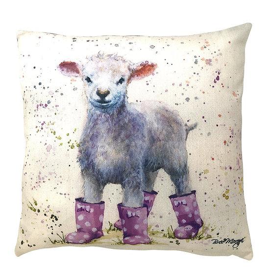 Lottie Lamb Luxury Feather Cushion - Bree Merryn