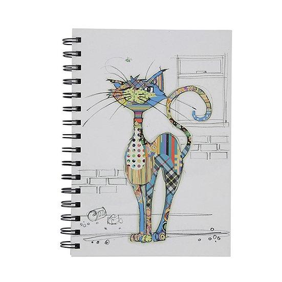 Cola Cat Kooks A6 Notebook