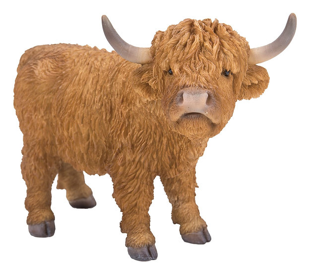 Highland Cow Ornament - Frost Resistant