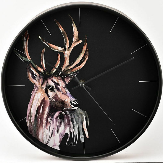 Stag Wall Clock