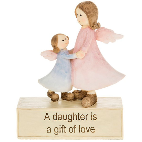 'A Daughter Is A Gift of Love' Ceramic Ornament