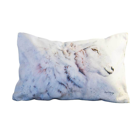 Shona Sheep Luxury Rectangular Cushion