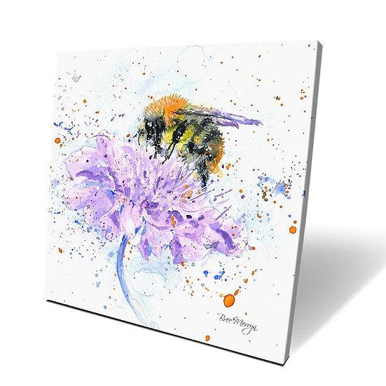 Busy Bee 40cm Box Canvas
