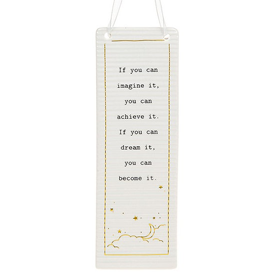 Thoughtful Words Large Hanging Plaque - Dream