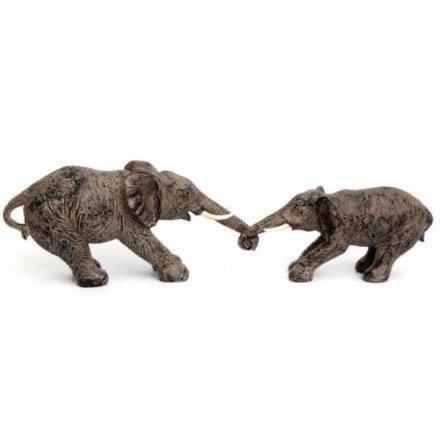 Elephant Mother & Calf Ornament