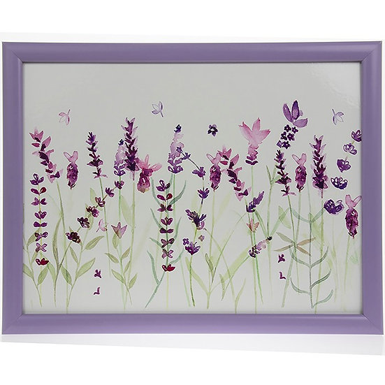 Purple Lavender Lap Tray