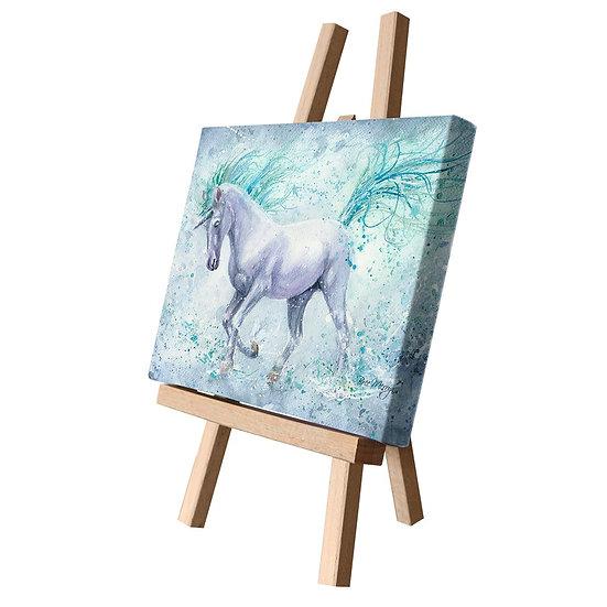 Silvermist Unicorn Canvas Cutie