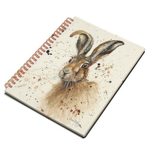 Hugh Hare A5 Spiral notebook