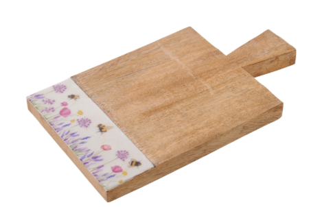 Floral Bee Chopping Board
