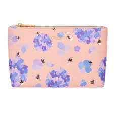 Fenella Smith Bee & Hydrangea Cosmetic Bag