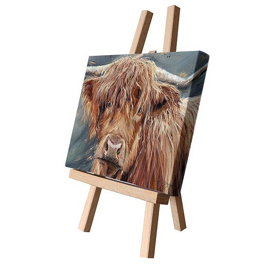 Bonny Cow Canvas Cutie