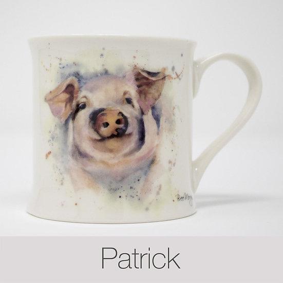 Patrick Pig China Mug