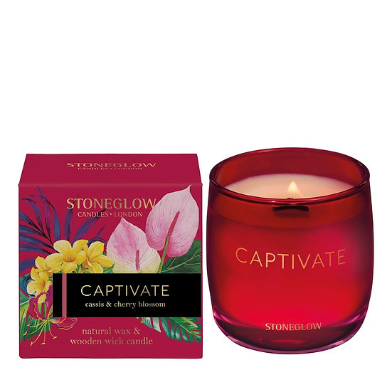 Stoneglow Infusion Captivate Tumbler Candle