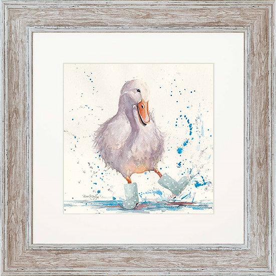Deirdre Duck 48cm Square Framed Print